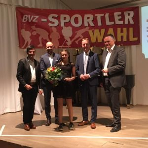 U16 Spielerin Enya Spulak wurde Sportlerin des Jahres 2018
