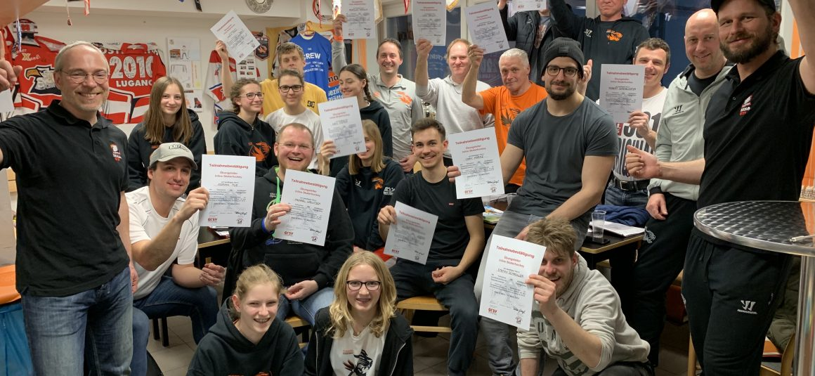 Übungsleiterlehrgang im Inline-Skaterhockey in Stegersbach