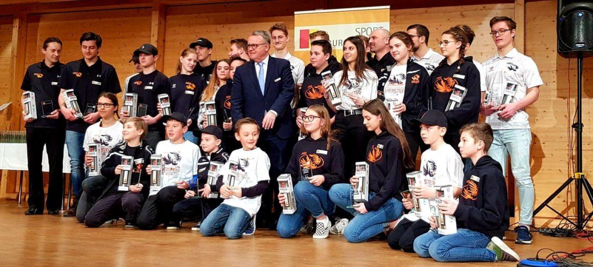 Landeshauptmann Niessl ehrt die burgenländischen Meister 2018
