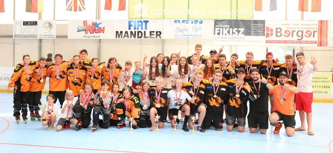 Tigers vergolden sich bei den österreichischen Meisterschaften!