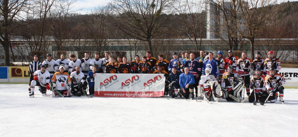 Erster ASVÖ Eishockey Cup voller Erfolg