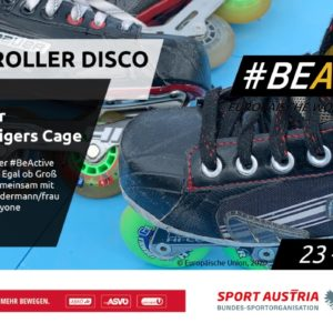 #BeActiveNight: Rollerdisco im Tigers Cage