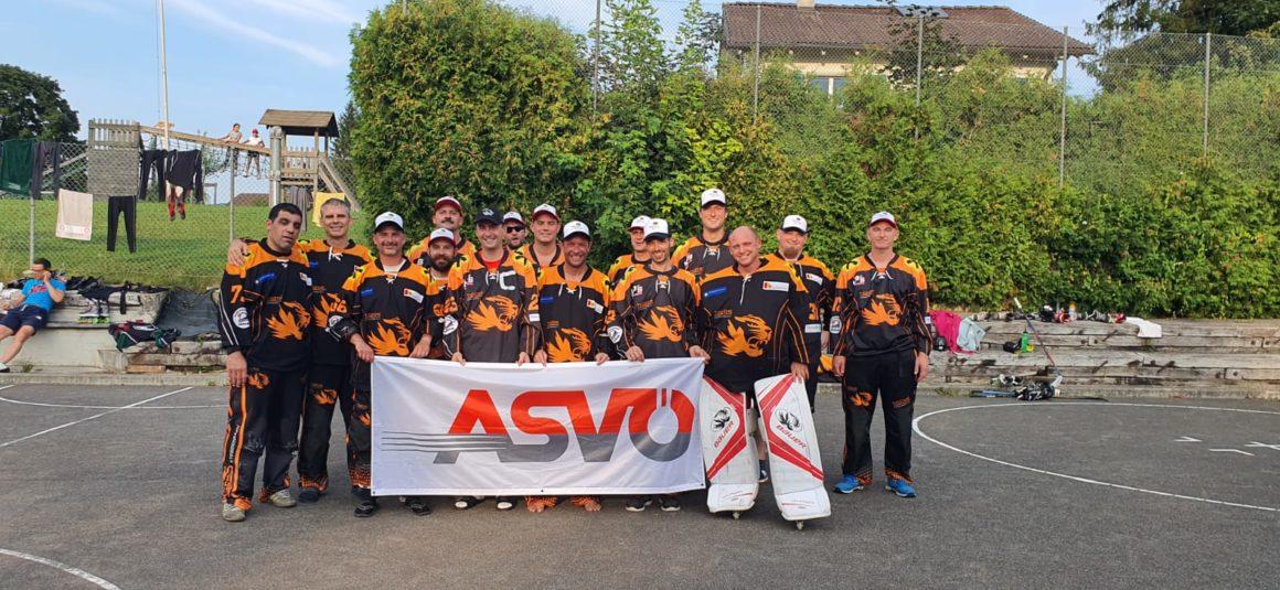 Sensationeller 8. Platz für Tigers Veterans beim Europacup